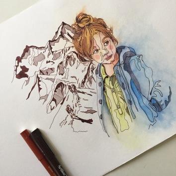sketch illustrator illustration Casey Allum artist