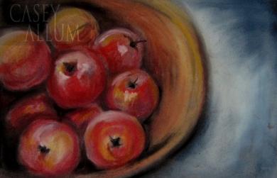 Chalk Apples