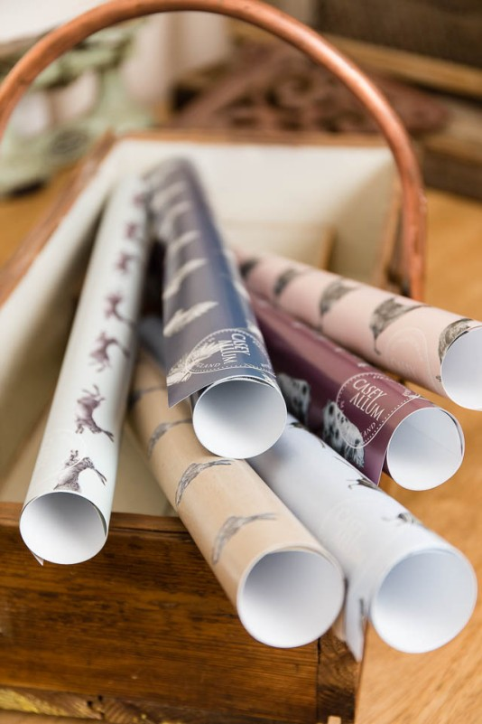 Designer Wrapping Paper