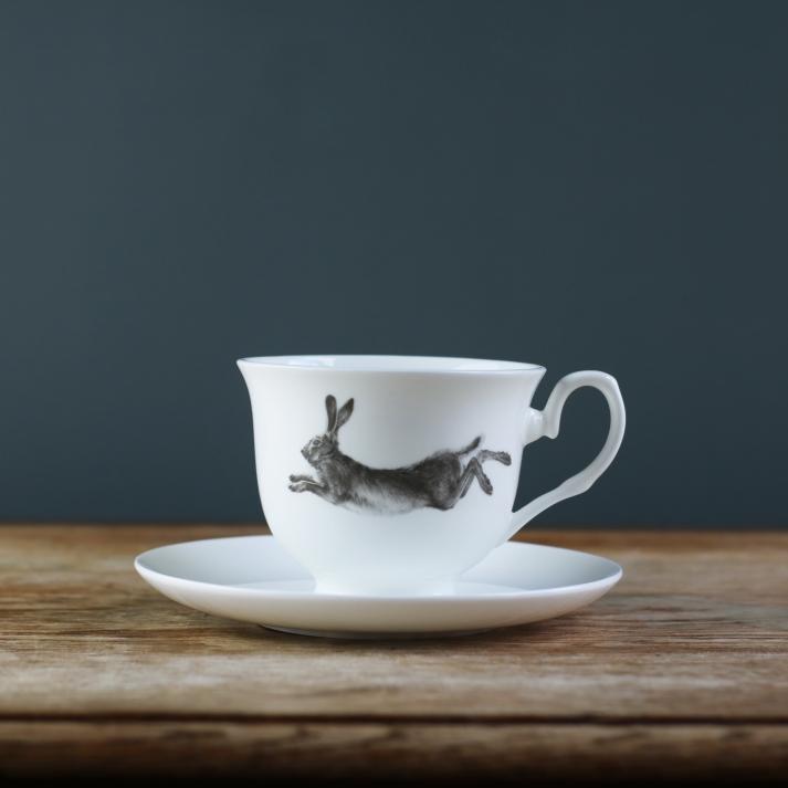 Hare Teacup