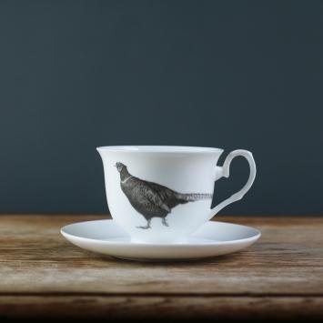 Pheasant Teacup
